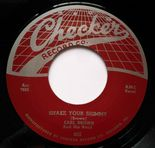 "45Re ✦ EARL BROWN ✦ ""Shake Your Shimmy / The Cat's Wiggle"" Greasy R&B Rarity ♫"
